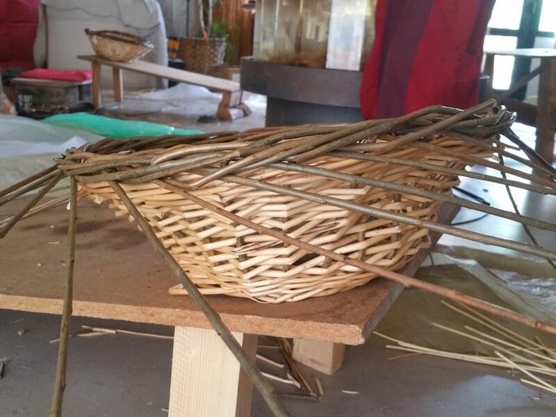 Bergerie en Garrigue Atelier initiation vannerie 163