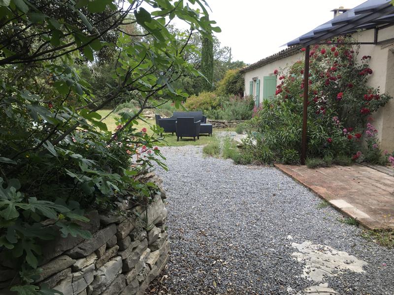 Bergerie en Garrigue Jardin 72